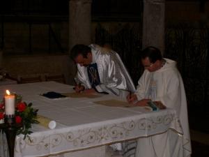 Gemellaggio con la Basilica dell'Annunciazione di Nazaret-5